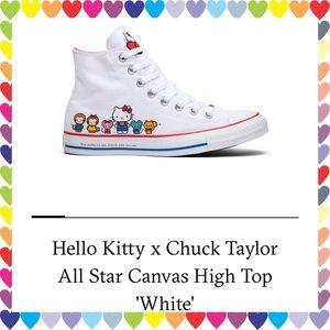 🆕Item🔥Hello Kitty High Top Chuck Taylors